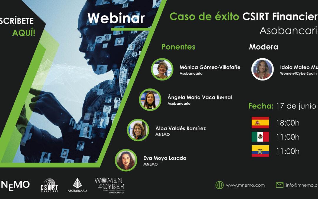Webinar – Caso de éxito CSIRT Financiero (MNEMO-ASOBANCARIA)