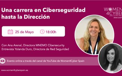 Entrevista en Women4Cyber a Ana Arenal: Directora de MNEMO