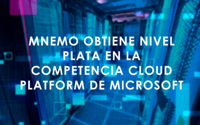 MNEMO obtiene nivel Plata en la competencia Cloud Platform de Microsoft