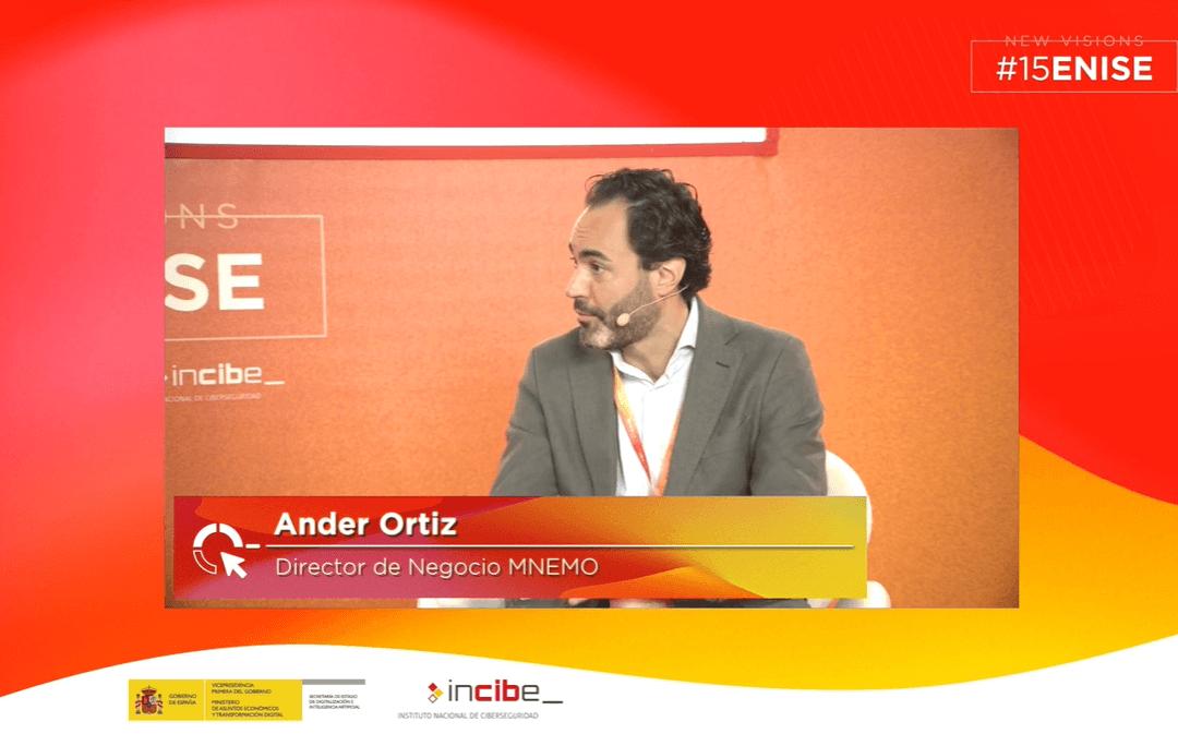 Entrevista en ENISE a Ander Ortiz: Director de MNEMO