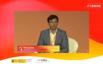 Mesa redonda en ENISE con Raúl Sánchez: CEO de MNEMO
